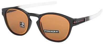Oakley Latch Sunglasses OO9265-3653 Matte Black Fade | Prizm Bronze Lens | BNIB