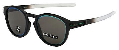 Oakley Latch Sunglasses OO9349-1653 Matte Black Fade| Prizm Grey Borderline Asia