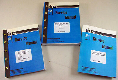 Lot International 766 966 1066 1466 Tractor Service Repair Shop Manuals Engine