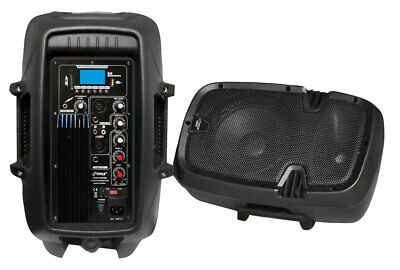 """PYLE-PRO Powered Bluetooth PA Microphone System 15"""" Active B"""