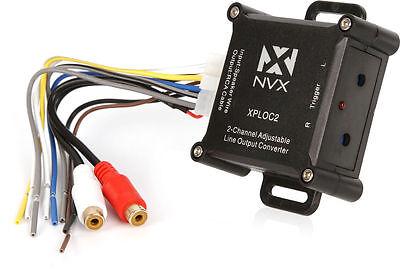 NVX XPLOC2 300W Super Low Distortion 2-Channel Adjustable Line Output Converter