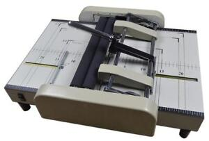 Open Box Automatic Booklet Maker Book Binder Binding Machine 110V  120330