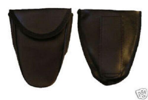 Handcuff Case  Hand Cuffs Belt Loop on Back Hook & Loop Flap Closure Cuff