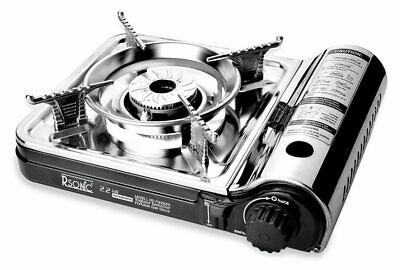 Gebraucht, Tragbarer Edelstahl Turbo Gaskocher RS-7000DFS  gebraucht kaufen  Schorndorf