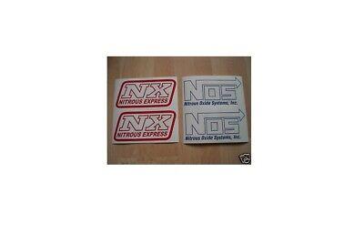 NOS NX Aufkleber Set Nitrous Express Nitro System USA Tuning Set V8 V6 V10