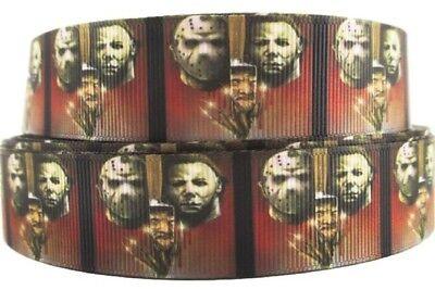 Horror Movie Characters Halloween Grid 1