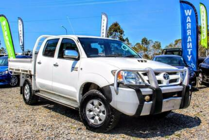 FROM $71 PW! FREE 1 YR WARRANTY! 2006 HILUX SR DIESEL