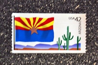 2008USA 4277 42C ARIZONA STATE FLAG - FLAGS OF OUR NATION  MINT NH  CACTUS