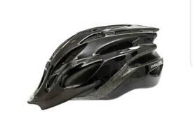 Raleigh gloss black bike helmet