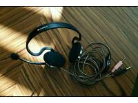 Labtec stereo headset with microphone
