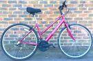 17 inch Raleigh Ladies women / Unisex Hybrid bike bicycle