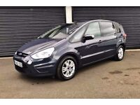 2012 FORD S-MAX ZETEC 2.0 TDCI 140 7 SEATER LOW MILES FINANCE AVAILABLE