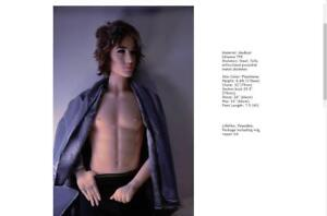 Male displaying dolls, FOR ADULT ENTERTAINMENT 18+