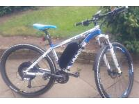 Patwin 1481D Whistle Bike with XIPI Electric System used twice Cost £1,800 - £1350 for quick sale