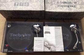 2 X Technics SL-1210 MK5G Turntables- Original Lids & Needles - MINT CONDITION!!