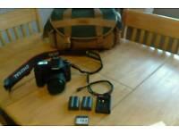 cannon SLR camera 40D