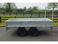 GALVANISED DROPSIDES TRAILER