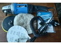 Silverline electric car polisher buffer 240v