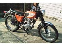 CLASSIC BSA STARFIRE 250 CC 1969