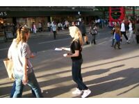 Supervised and GPS-TRACKED Leaflet Distribution Service-Door to Door/Hand to Hand Flyer Distribution