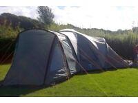 Vango Diablo 600 Canvas - 6 man tent