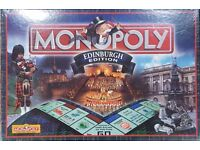 Monopoly Edinburgh Edition £20 ONO