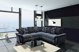BRAND NEW SHANNON SOFA COLLECTION**CORNER SOFAS**3+2 SETS **SWIVEL CHAIRS**FOOT STOOLS