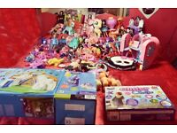 Massive job lot of dolls /barbie/monster high/ever after high/my litter pony etc