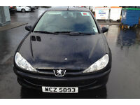 Peugeot 206 - Great 1st time or runaround car