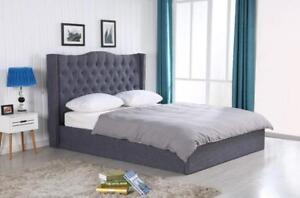SALE-High end Complete Upholstered Bed Set - BRAND New in a box