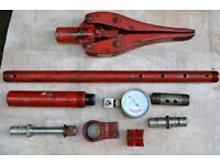BLACK HAWK - Hydraulic parts for the cutter