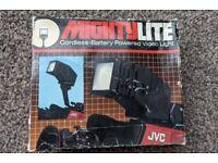 JVC mighty lite cordless video light