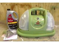 BISSELL 30K4E Little Green Multi-Purpose Compact Earth Friendly Deep Cleaner