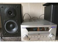 Teac DR-L700 CD DVD MP3 Integrated Audio Stereo Amplifier 60w amp Digital IN OUT