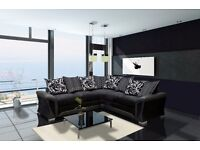 SALE PRICES: Brand new luxury chennille fabric, 3+2 sofa sets and corner suites. UK DELIVERY