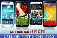 $30+ Samsung Repair and Fix Bad IMEI BLOCKED BLACKLISTED?