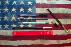 5pc bundle of eyeshadow pencils: Lancome, Clarins, Pixi, L'Oreal Paris and NYX