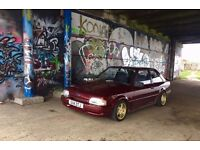 Ford Escort mk4 2.0 zetec RS turbo replica xr3i Modified P/X Swap