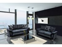 Large Shannon Fabric Corner Sofa Or 3+2 **Come And View It** **Try Before You Buy**