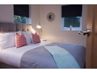 One, two and three bedroom short stay apartments/houses in Ayrshire Fully serviced including Bills