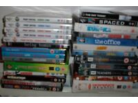 25 dvd Box Sets sale or swap