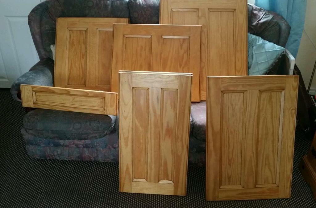 Pine Kitchen Doors And Drawer Fronts