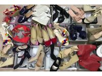 80 pairs Job Lot Wholesale Sandals Womens Shoes Joblot All Sizes UK Ladies High Heels Brand New