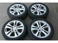 "Genuine Mercedes 17"" alloys wheels A C E Class Amg Sport SE wheels 5x112 Vito viano van"