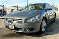 2011 Nissan Maxima SV | Accident-FREE | Sunroof + Leather