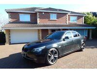 BMW 520d SE (black) 2008