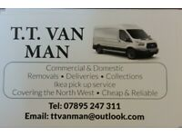 Van man - cheap reliable collections & removals