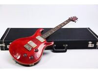 Paul Reed Smith PRS 20th Anniversary Quilt Top Cherry Red & PRS Hard Case