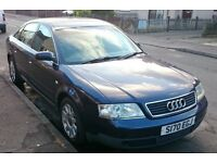 Audi A6, 2.4 SE Auto, LPG Gas Conversion, Dual fuel, Cheap to run, 55p/litre gas