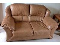 Italian Soft Leather 2-seat Sofa